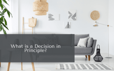 What is a Decision in Principle